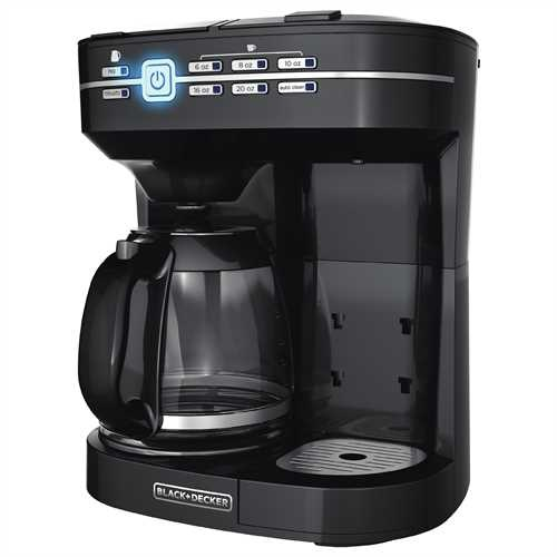 Black and Decker - Caf Select Dual Coffee Maker - CM6000BC