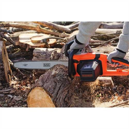 Black and Decker - 15 Amp 18 in Chainsaw - CS1518