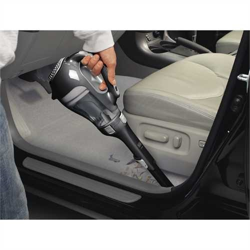 Black and Decker - dustbuster Hand Vacuum Black - HHVI320JR00