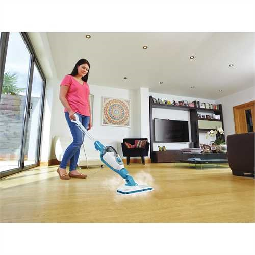 Black and Decker - 7in1 SteamMop with SteamGlove Handheld Steamer - HSMC1361SGP