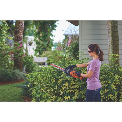 Black and Decker - 40V MAX Lithium 24 in Hedge Trimmer - LHT2436