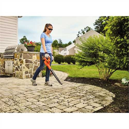 Black and Decker - 40V MAX Sweeper - LSW40C