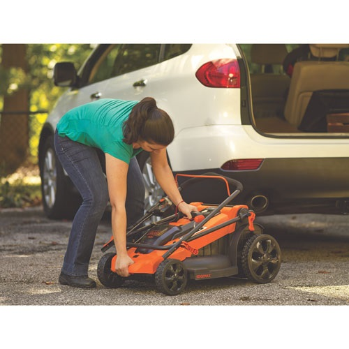 Black and Decker - 20 13 Amp Corded Mower - MM2000