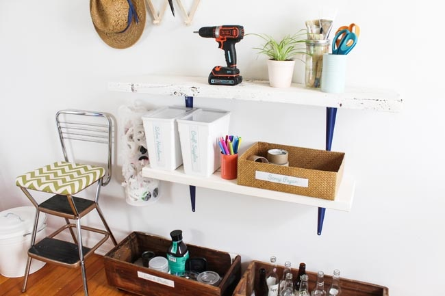 DIY Kitchen Recycling Station_11