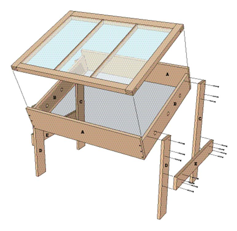 solar dryer diagram