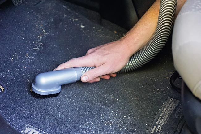Vacuum the Floor and Mats